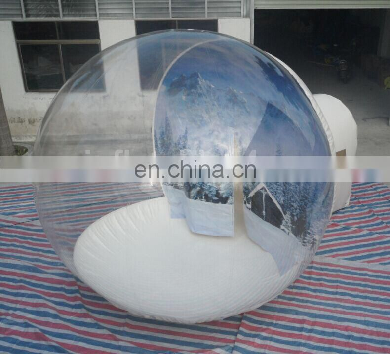 Theme Bubble tent with matress for events