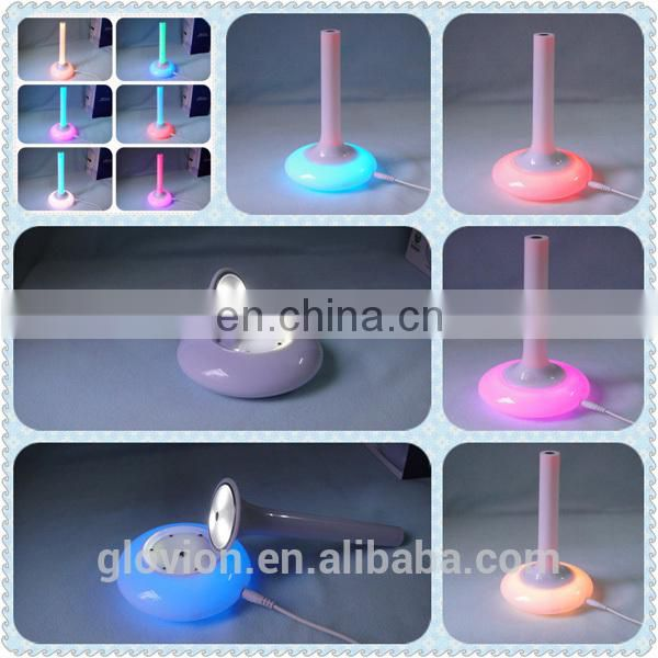 Handheld Flashlight Torch Mood Lamp with 7 color Changeable Vase Design LED Rainbow Night Light