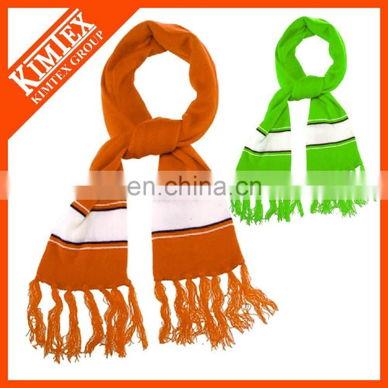 Winter fashion custom 100% cashmere scarf