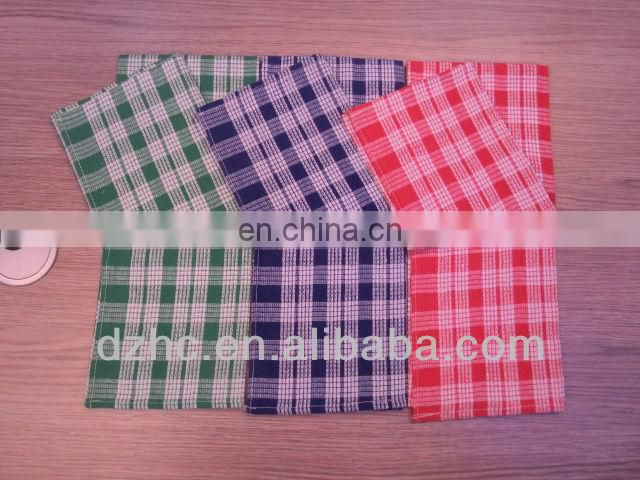 high quality 100%cotton stripe cleaning cloth wholesale