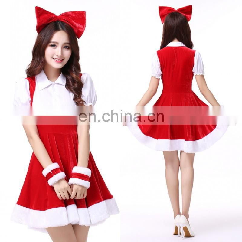 Wholesale New Design Female Sexy Christmas Costume