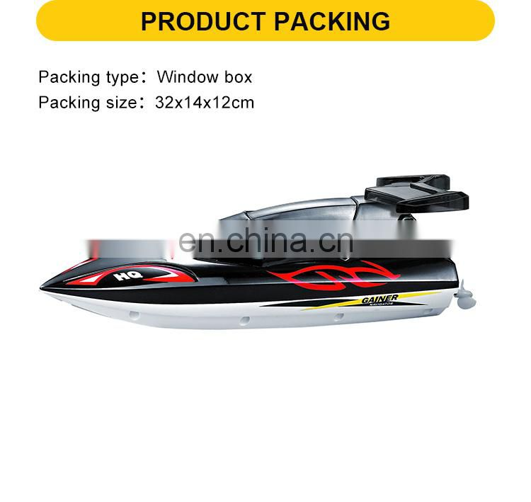 4 Channel plastic high speed remote control toy boat