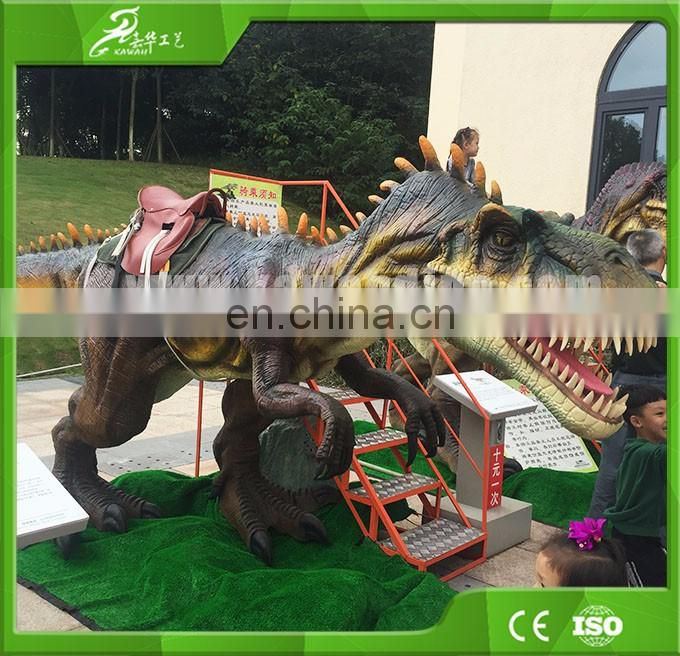 KAWAH Cheap Sale Amusement Park Animal Scooter Dinosaur Rides For Sale China Supplier
