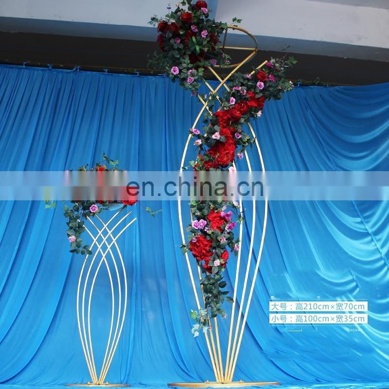 Tall Beautiful Wedding centerpieces frame stands