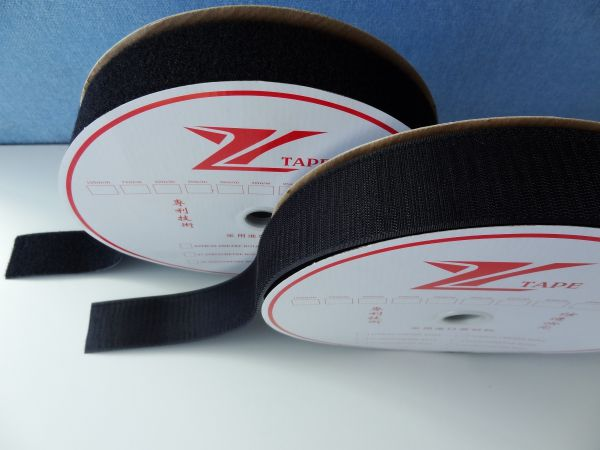 Black Red Fire Retardant 3m Hook And Loop Tape Image