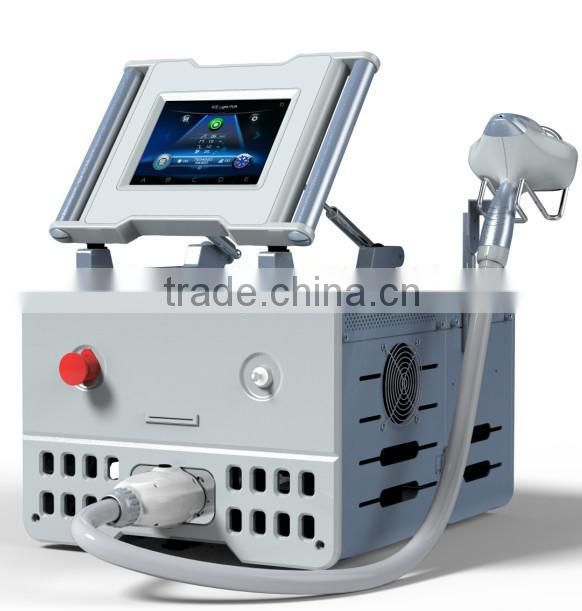 2014 AFT power 2400W SHR Golden manufacture super hair removal machine / ipl beauty