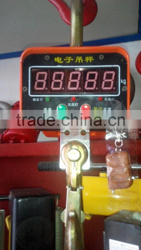 5 ton digital crane scale with wireless controller