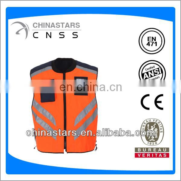 hi vis reflective clothing with pockets