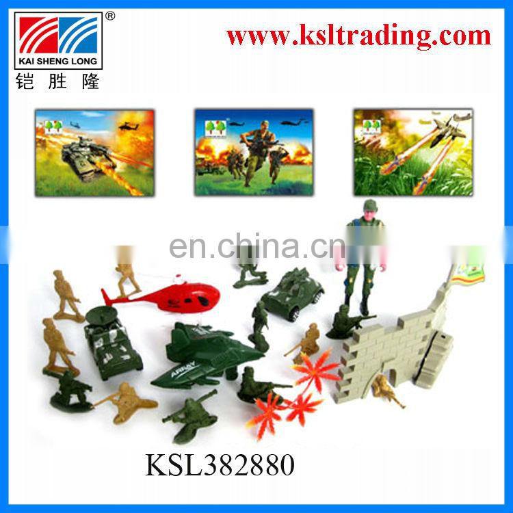 hot sale mini plastic military figure toys