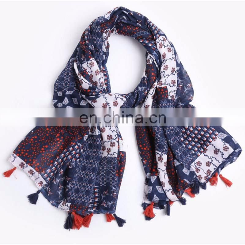 High Quality Women wholesale fashion Polyester lace new design hijab scarves