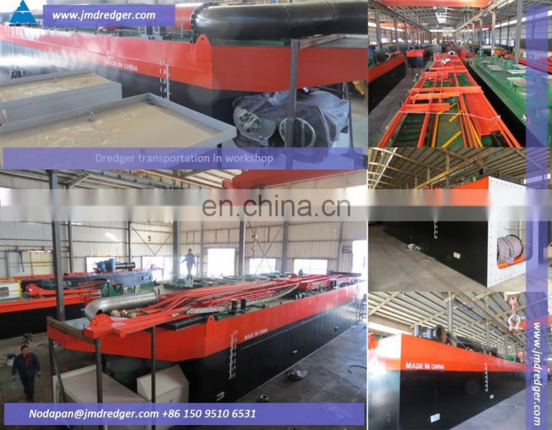 20 inch China Low Price sea sand dredge/river sand dredging cutter suction dredger
