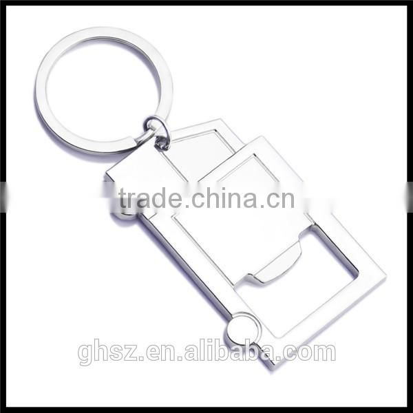 Customized metal key ring truck shape keychains company