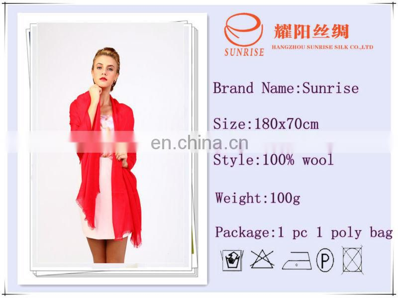 2013 bright solid color viscose fashionable woman scarf