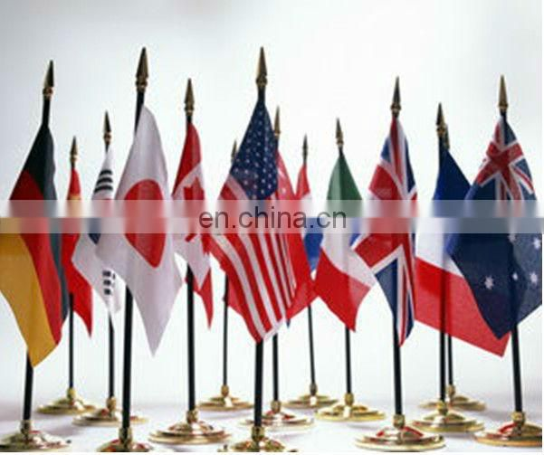 Wholesale national mini table flag