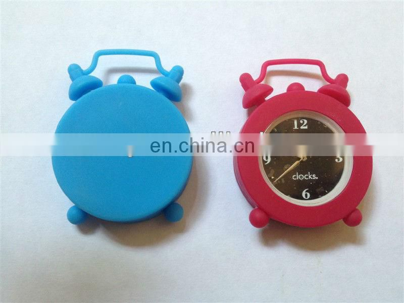 2015 OEM fashion Hotsell Mini retro silicon Clock Alarm clock