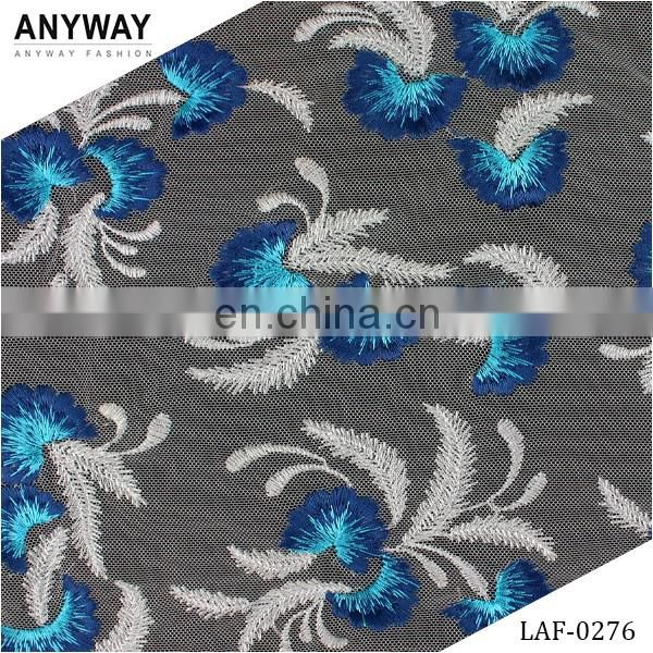 Fashion jacquard lace fabric;voile lace fabric nigerian;heavy lace fabric for party dress