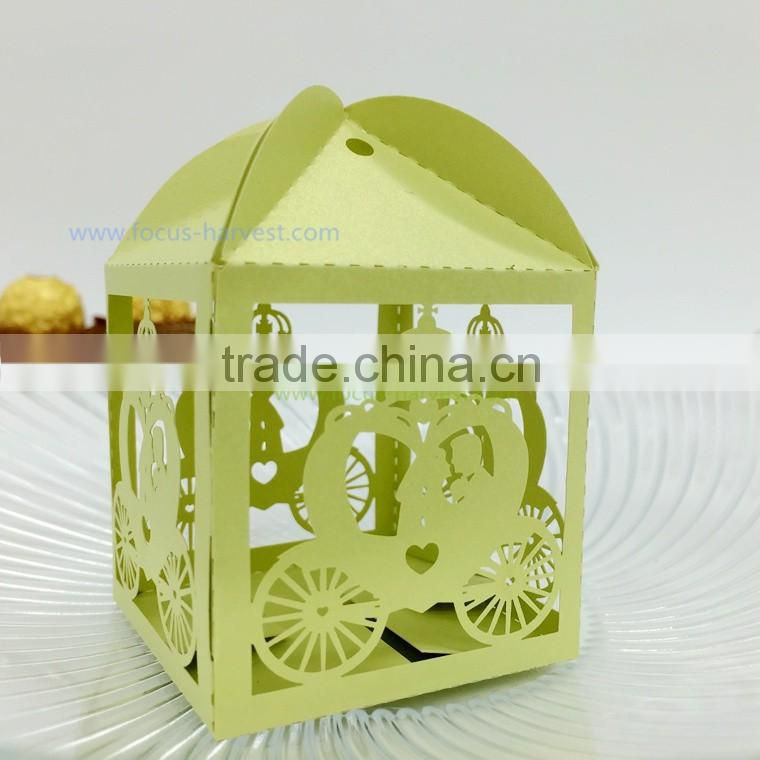 C218 Personalized laser cut wedding souvenirs wedding gifts bags for guests wedding favor boxes