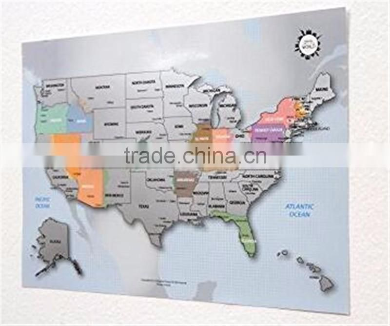 Personalized Scratch-off Us Map the United States of America ... on red usa map, folding usa map, black usa map, white usa map, gold usa map, signature usa map,