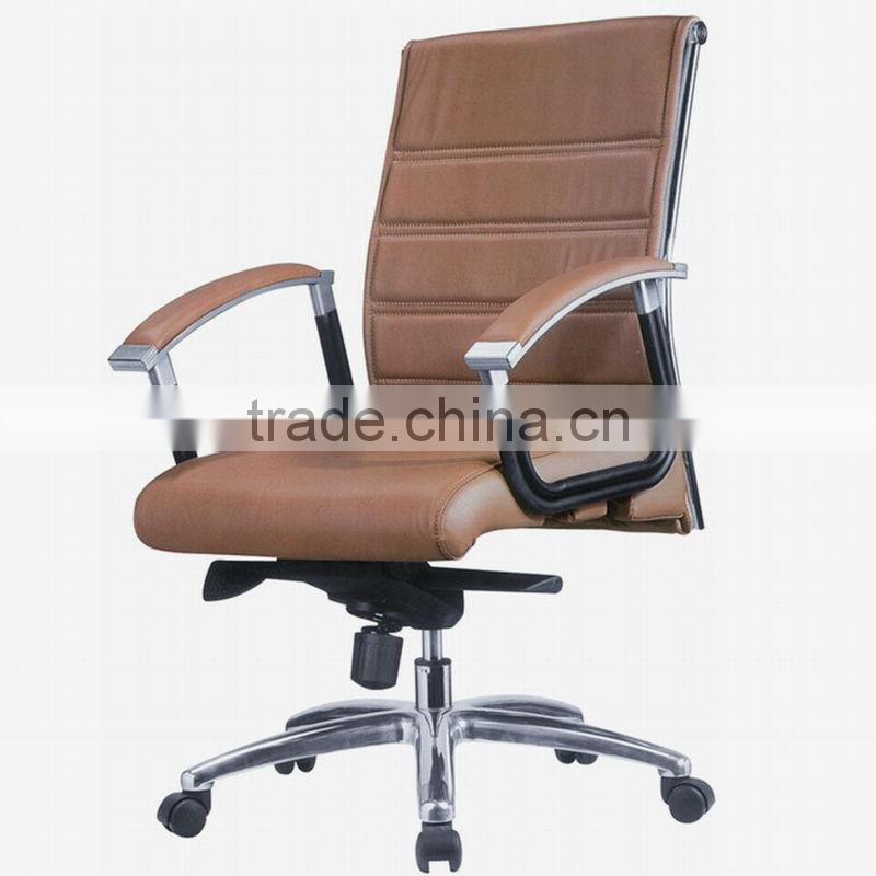 Leather and chrome chairs (3308A)