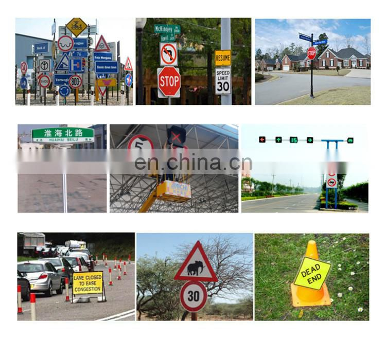 High Quality Electric Components and Supplier Security and Protection Road Traffic Signs Reflective Material