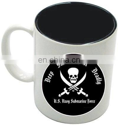 2016 hot sell black ceramic cup