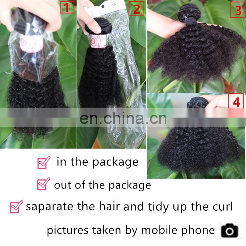 alibaba express china burmese curly hair 4c afro kinky curly human hair weave