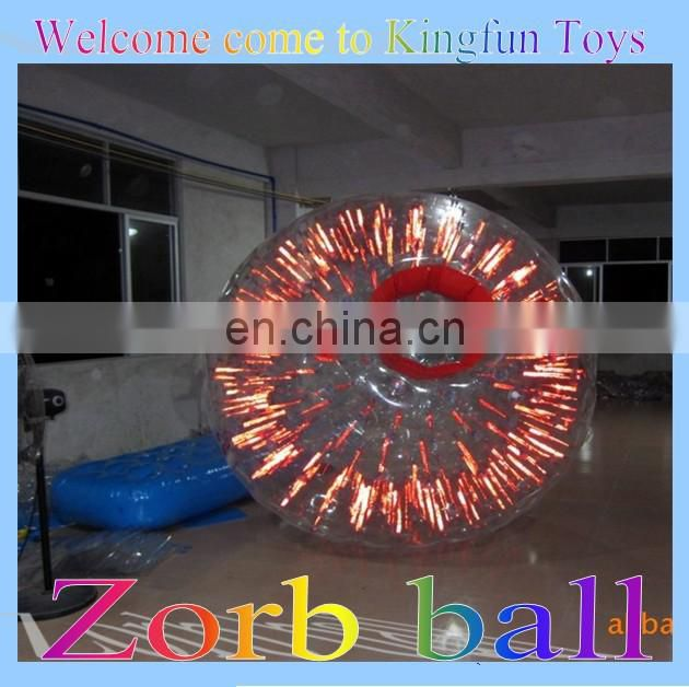 Inflatable loopy ball/crazy loopyballs