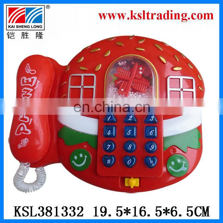 counting frame music snowflake mini telephone toy