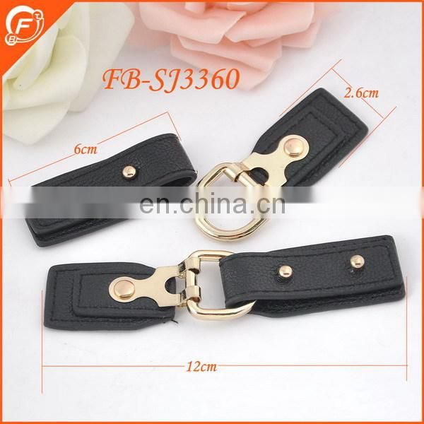 new arrival fashion pu leather toggle