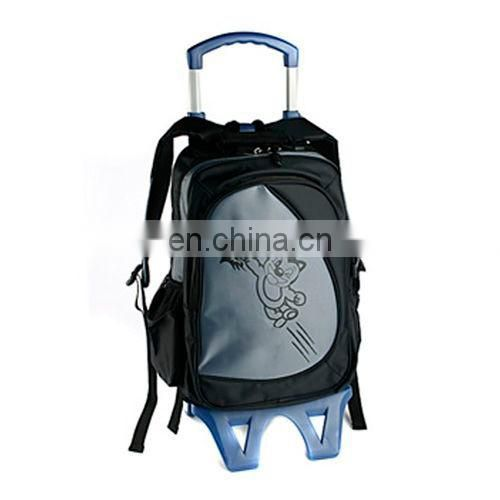 Strong wheeled bag for school