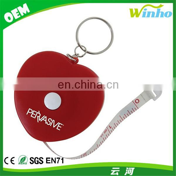 Spirit Level Tape Measure Key Ring