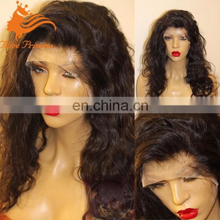 Full Lace Human Hair Wigs Natura Wave Wig 100% Brazilian Virgin Hair Lace Wigs