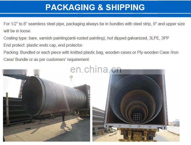 Top quality dn150 steel pipe for industry