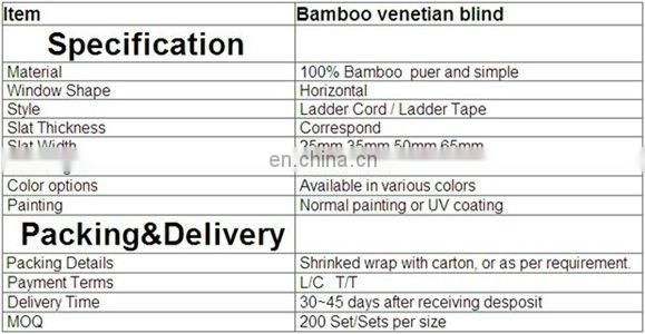 Natural Bamboo Louvre Blinds - distressed bamboo
