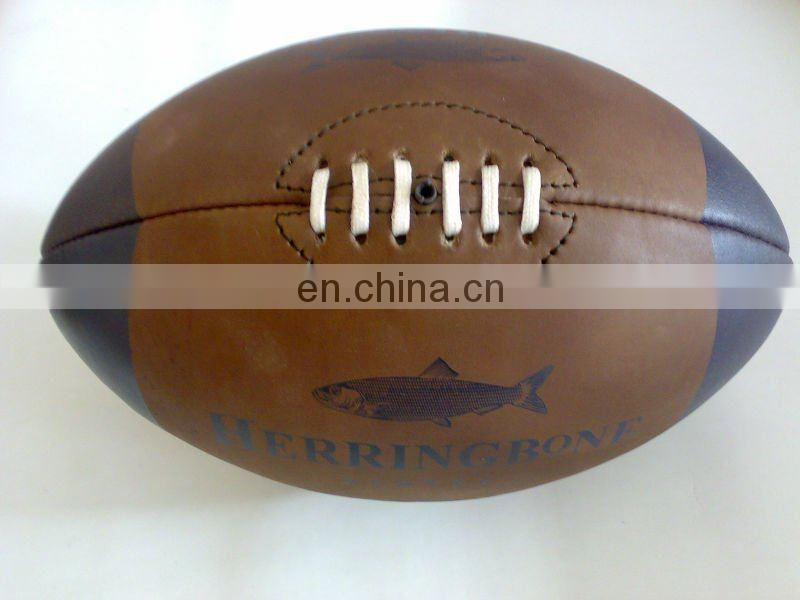Vintage Leather Rugby Balls