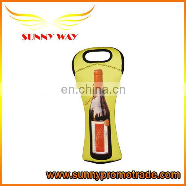 2 Bottle Wine Bag Insulating Neoprene Insulates & Protects