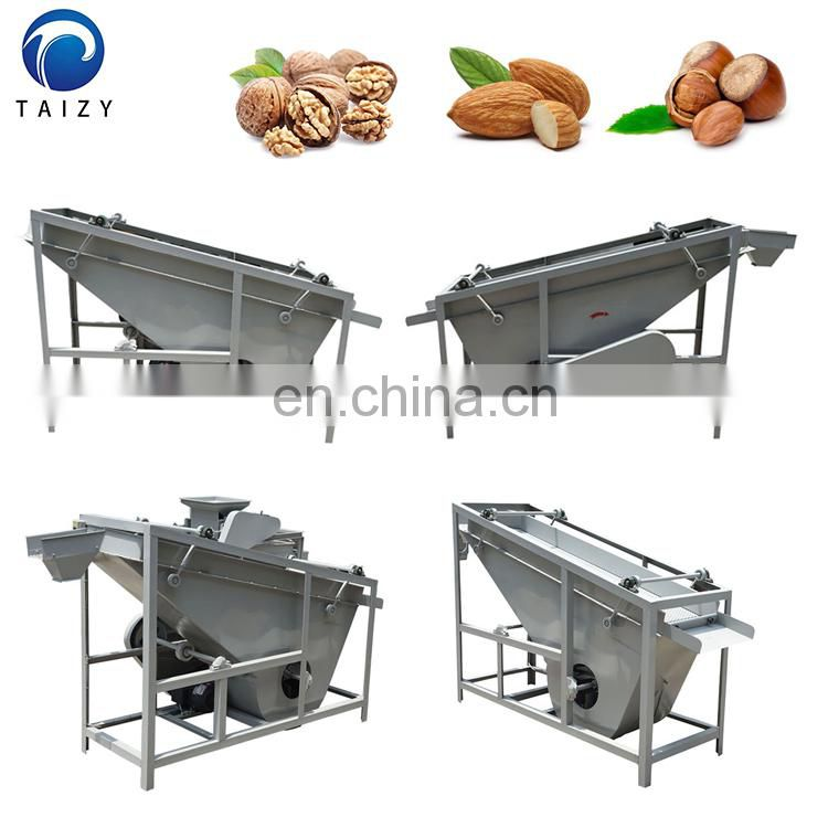 almond kernel shell separator walnut shell removal machine nut separator machine