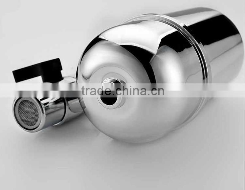Made in China KDF+activited carbon tap water purifier,magnetic energy faucet water filter