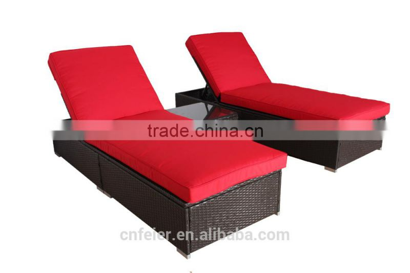 rattan asian style outdoor furniture lounge