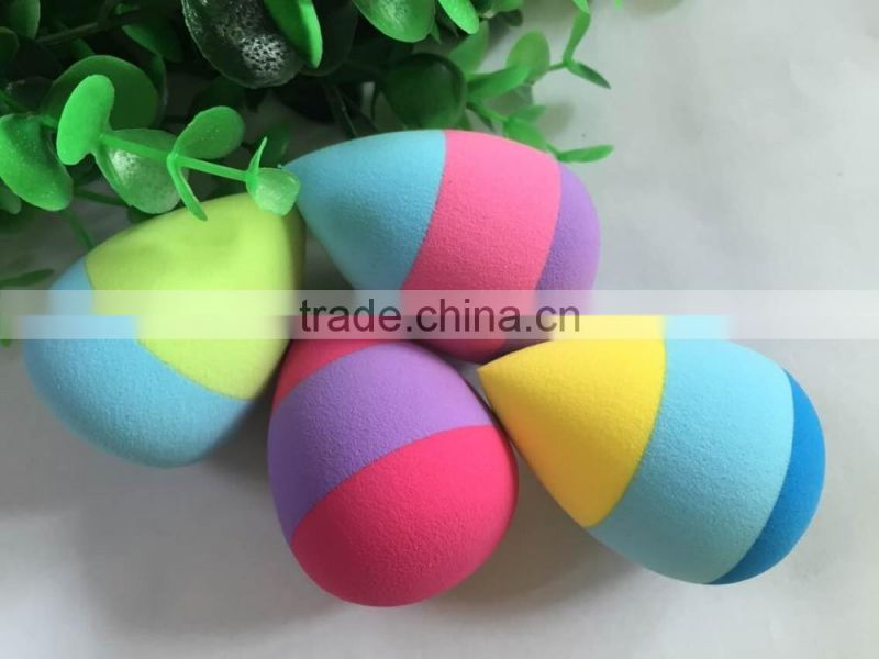 New coming colour mix Makeup Beauty Sponge Blender for Perfect Makeup/Beauty Tool