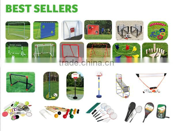 2015 outdoor game volleyball ,badminton ,tennisball game net stand game set 3in 1 game set