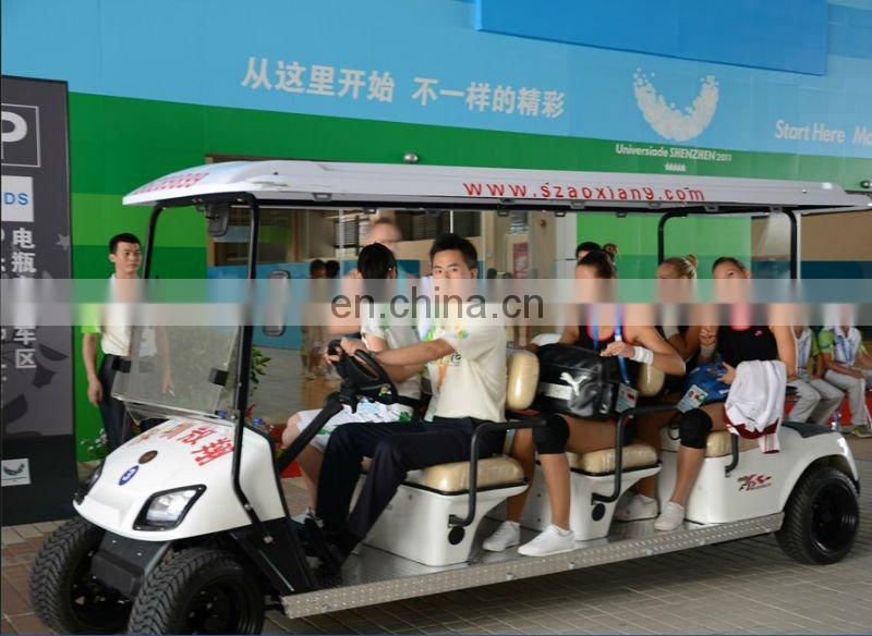 4 seater 24v electric golf cart with CE certificate many color for choice