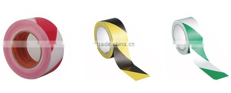 YG Brand Black & Yellow Striped Hazard Warning PVC Lane marking tape