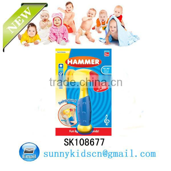 2014 NEW kids plastic hammer toy Hit Hammer Children Game