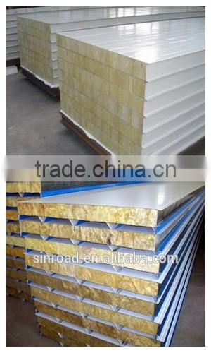Thermal Insulation Material Mineral Wool Insulation with Metal