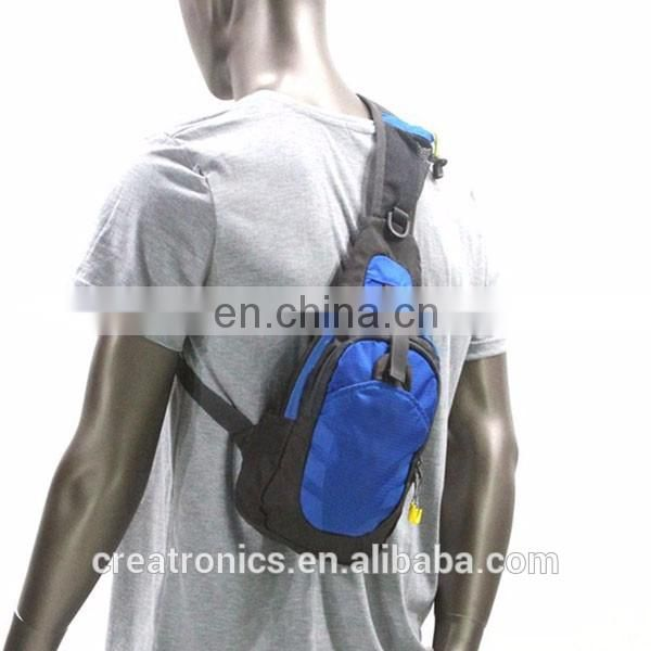 Men Waterproof Material Sport Chest Pouch Bag Shoulder Sling Bag For Men And Women Cell Phone Shoulder Bag