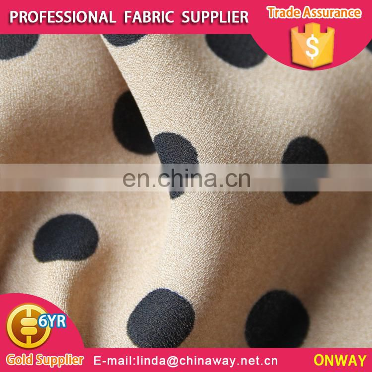 2016 hot selling charming fabric dot dress jacquard,beauty lady dot dress jacquard,girl' dot dress jacquard