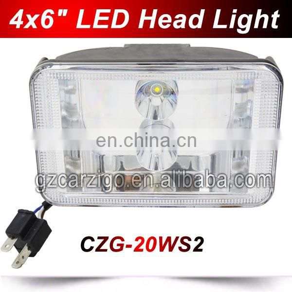 "Hi/Lo beam waterproof USA chip Sealed Beam 12v 24w 5x7"" Square Led Headlights for truck heavy duty motorcycle auto parts"
