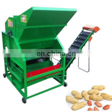 popular type fresh peanut picking machine to pick the peanut and groundnut from the peanut pole