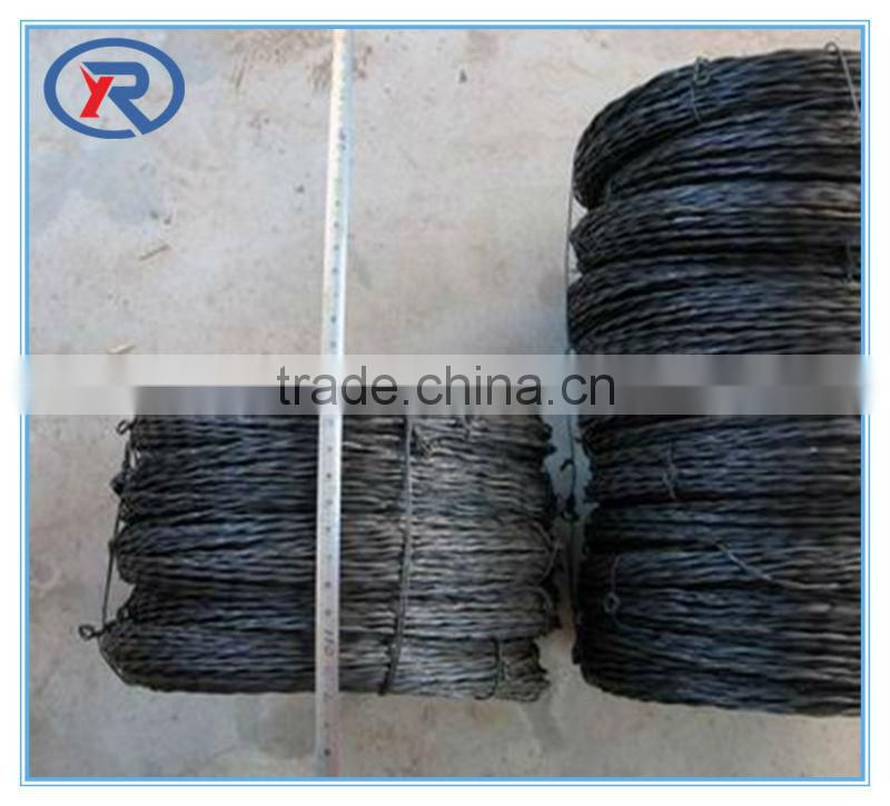 China supplier galvanised or black annealed binding wire per roll weight